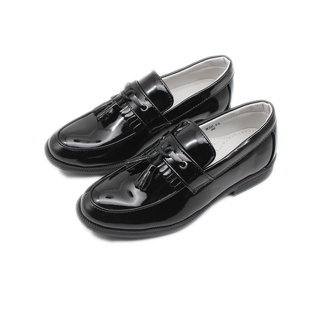 Boys Classic-Style Leather Shoes