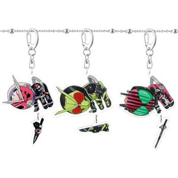 Fashion Anime Kamen Rider Decade Ex Key Chain High Quality Children's Birthday Toy key Chains Creative Christmas Accessory Gift image