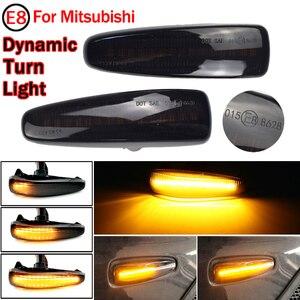 Image 2 - 2pcs Flowing Led Dynamic Turn Signal Light For Mitsubishi Mirage 2014 2019 Side Marker Light Sequential Blinke