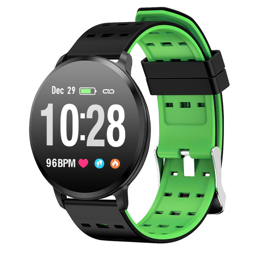 Men Women Rechargeable APP Supported Sport Smart Watch Heart Rate Monitor Calorie Counter Fitness Tracker Blood Pressure image