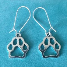 Paw print earrings animal cute jewelry gift for daughter pet