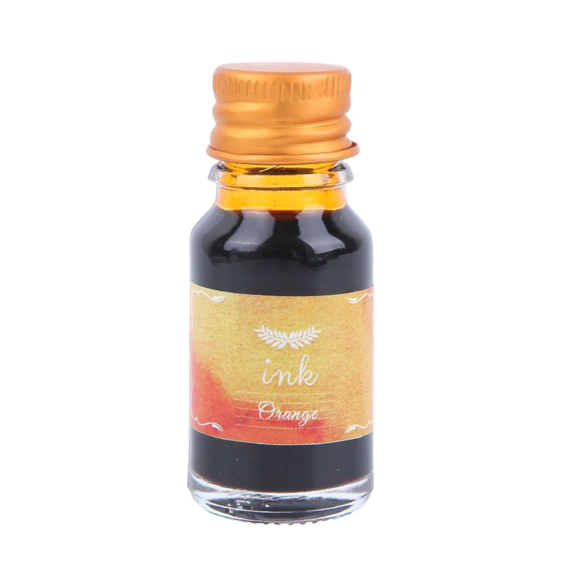1 Bottle Pure Colorful 10ml Fountain Pen Ink Non-carbon Refilling Ink Stationery
