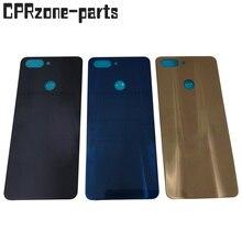 Preto/azul/ouro para zte lâmina v9 v0900 bateria traseira capa traseira porta habitação frete grátis