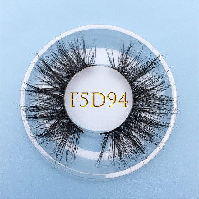 Custom box MIKIWI 24 Styles 100% handmade natural thick  long false eyelash 5D soft dramatic Eye lashes high volume makeup tools 3