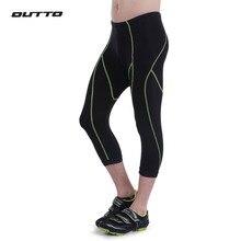 Мужские велосипедные шорты Outto, гелевые, с 3D подкладкой, велосипедные 3/4 штаны, дышащие, лайкра, летние, дорожные, велосипедные шорты отражающие, велосипедные колготки