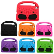 For Apple iPad mini 5 Mini 4 Mini 3 2 1 Lovely 3D Cartoon hand-held Stand Kids Shockproof EVA Silicon sparrow Case Cover kids cover for ipad mini 5 case non toxic eva shockproof washable stand hand holder case for ipad mini 1 2 3 4 5 7 9 inch