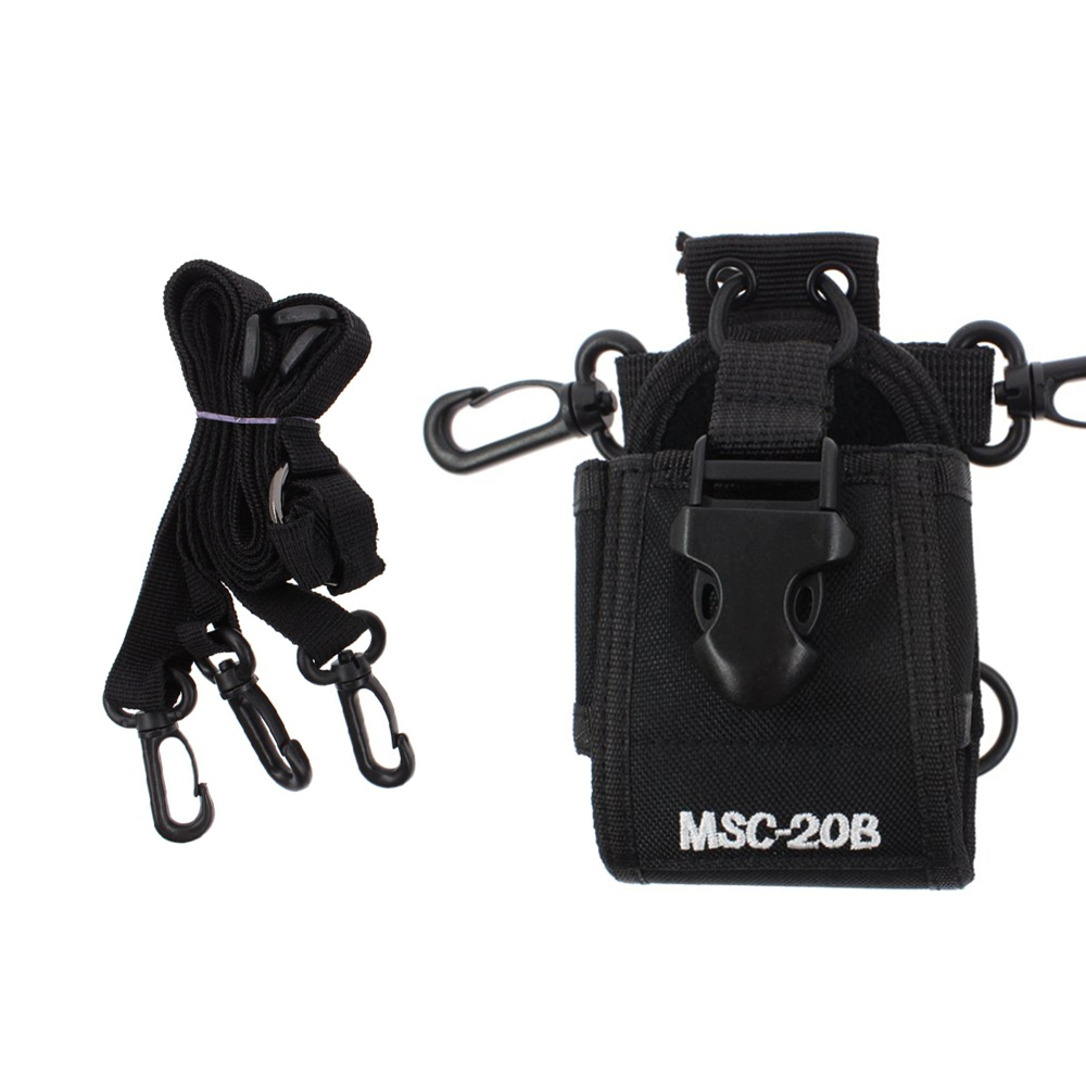 Multi-function Walkie Talkies Radio Case Holder MSC-20B For Motorola Kenwood Midland Icom Yaesu Baofeng Two Way Radio Bag