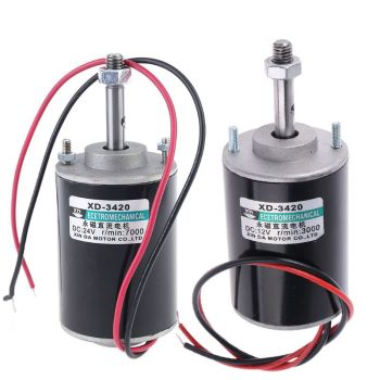 12/24V 30W Permanent Magnet Electric DC Motor High Speed CW/CCW For DIY Generator low torque 200 w 12 v permanent magnet generator with controller