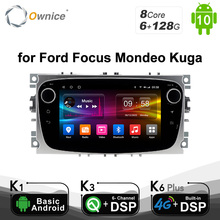 6G 128G Ownice Android 10.0 Car DVD Player 2 Din radio GPS Navi for Ford Focus Mondeo Kuga C MAX S MAX Galaxy Audio Stereo Unit