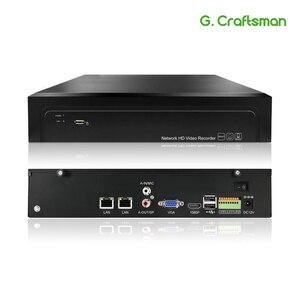 Image 1 - 16CH 4K 32CH 5MP H.265 NVR 485 Báo Động Ngoài Mạng Đầu Ghi Hình 2 HDD ONVIF P2P Cho Camera IP hệ Thống An Ninh G. ccraftsman