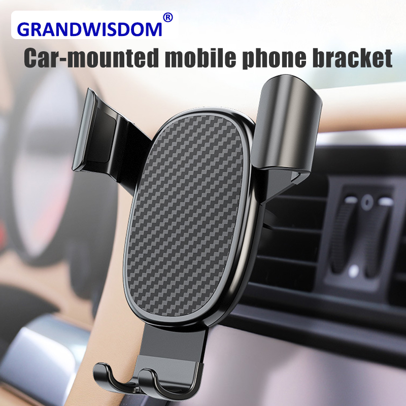 Auto Cellular Support Universal Car Gravity For Apple For Iphone Phone Holder Mobile Projection  Bracket Stand Cellphone Support