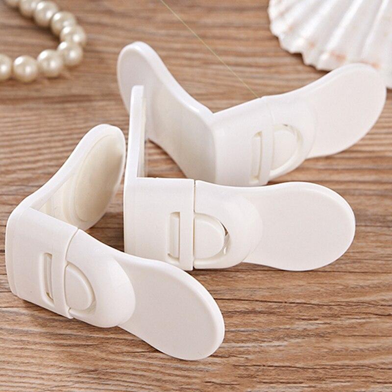 10 pièces/ensemble bébé sécurité tiroir serrures enfants sécurité Protection serrure pour porte d'armoire enfants Enfant sécurité serrures Securite Enfant