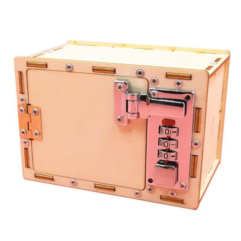 Коробка с паролем для мальчиков и девочек, сделай сам, детские школьные проекты, наборы для экспериментов, веселая физическая игрушка, изобр...