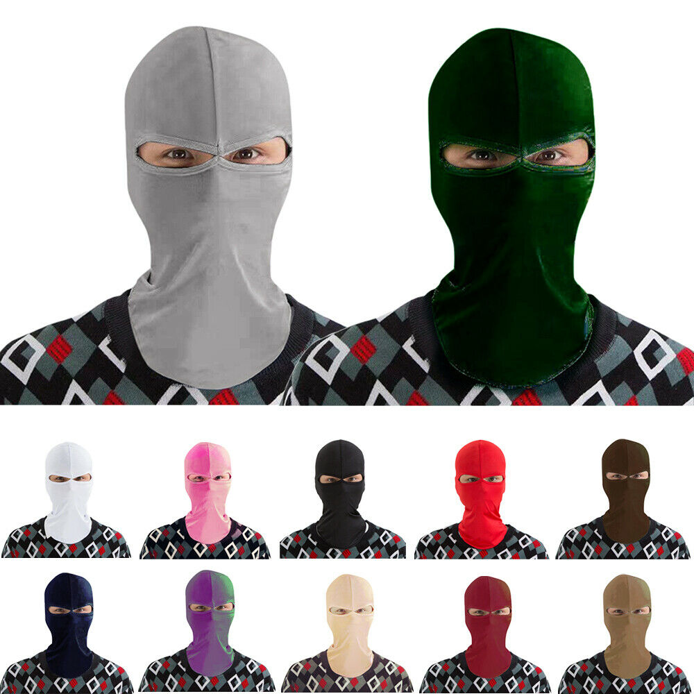 Outdoor Full Neck Face Mask Balaclava Ski Motorcycle Cycling Cover Ninja Scarf  Windproof Sport Muslim Niqab Headwear Beanie Cap