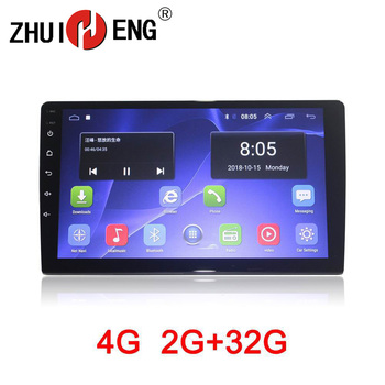 Zhuiheng 9 10.1 2 din Car radio for universal car dvd player autoradio GPS navigation 4G wifi 2G 32G car audio auto stereo