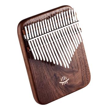 Nowy czarny orzech kciuk fortepian Kalimba 21 keydwuwarstwowy otwór boczny kalimba instrumenty muzyczne instrumenty klawiszowe tanie i dobre opinie MUKU CN (pochodzenie) MC-200 KALIMAB 21 key