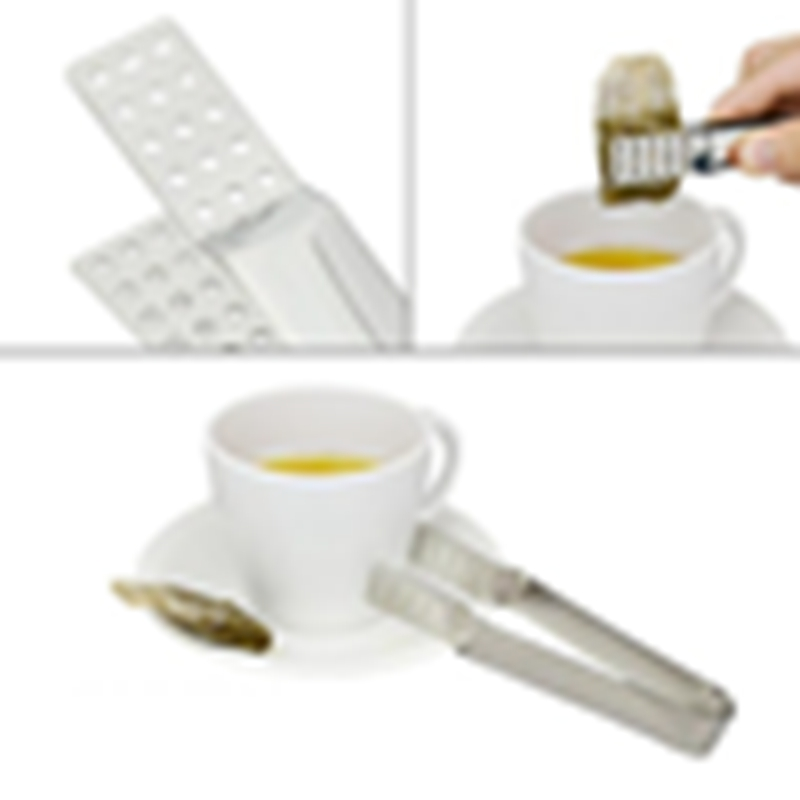 Hot Sale Stainless Steel Small Food Clip Tea Bag Clip Anti-Scalding Tea Set Accessories Small Food Clip Multi-Function Tea Clip
