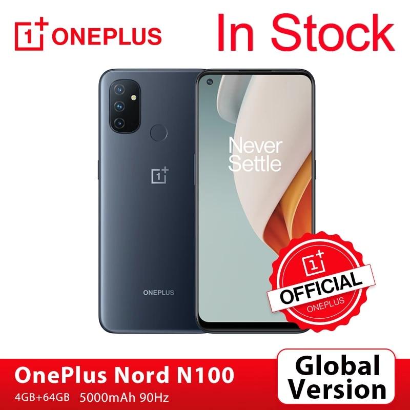 Global Version OnePlus Nord N100 4GB 64GB Smartphone 90Hz 6.52