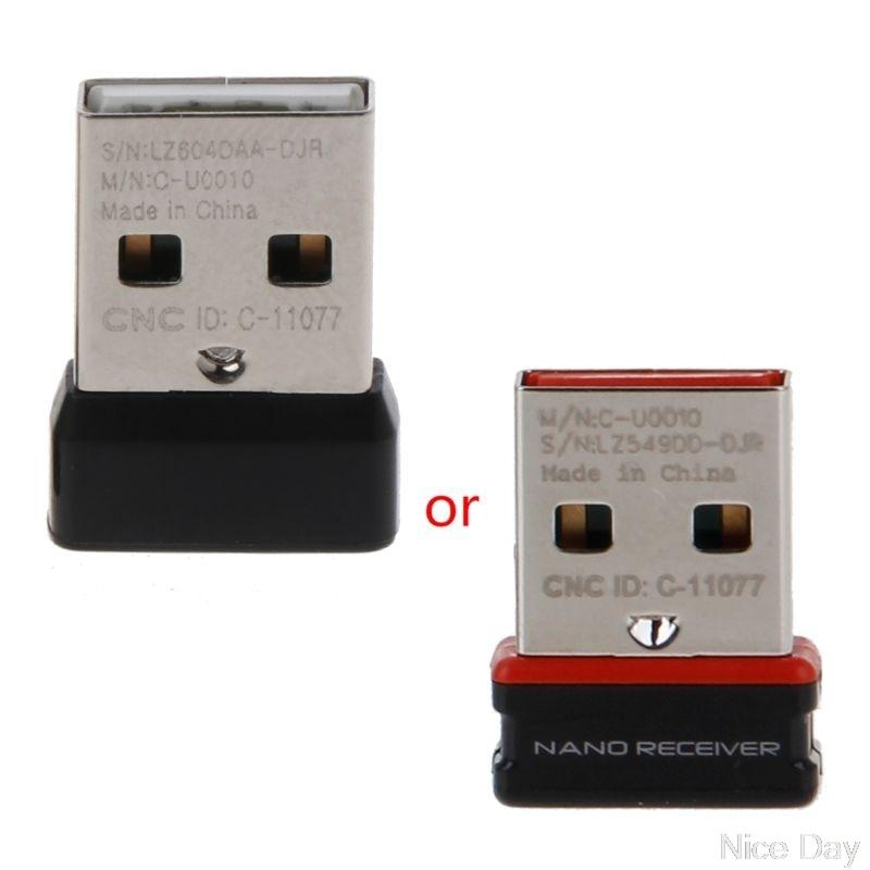 دُنجل لاسلكي استقبال توحيد USB محول ل لوجيتك لوحة مفاتيح وماوس توصيل 6 جهاز ل MX M905 M950 M505 M510 M525 الخ