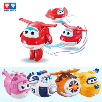 AULDEY Super Wings fun twisted toy blind box toy deformation robot Ledi and Xiaoai give children's Santa's birthday gifts image