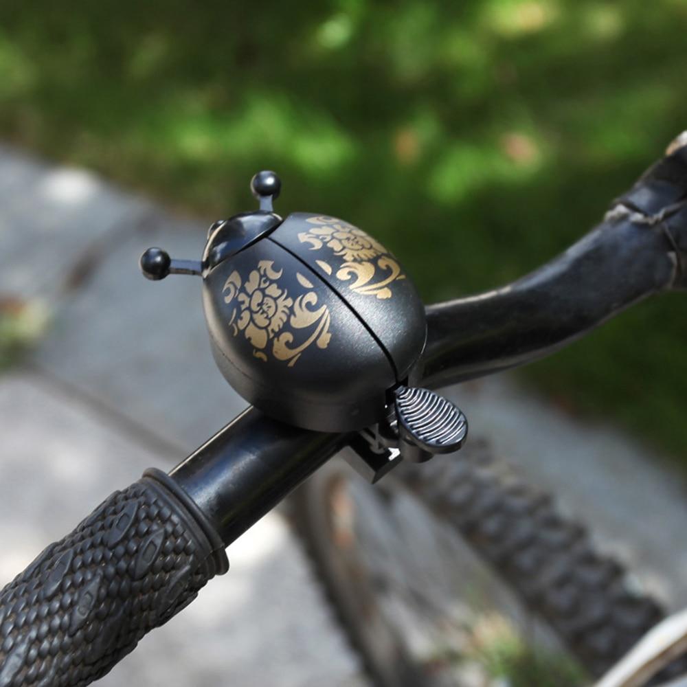 Bike Bells Alarm Horn Bicycle Bell Ladybird Alarm Bell Ring Horns Bike Metal Handlebar Horn Cycling Safety Accessories
