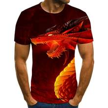 2020 z zabawnym nadrukiem męska koszulka na co dzień z krótkim rękawem O-neck moda 3D T koszula mężczyzna/kobieta koszulki Top wysoka marka jakości Tshirt
