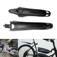 Conjunto de avental de bicicleta mtb mountain bike lama placa|Para-lamas| |  -