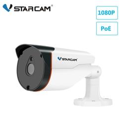 Vstarcam câmera ip poe câmera 1080 p hd ao ar livre à prova dwaterproof água bala câmera de vigilância cctv câmera de segurança visão noturna ir remoto