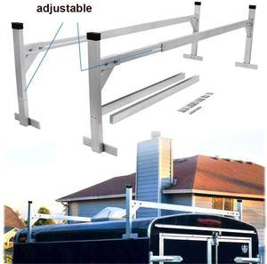 KINGCHER алюминиевый багажник на крышу стойки пикап Универсальный пикап грузовик плоская лестница стойка