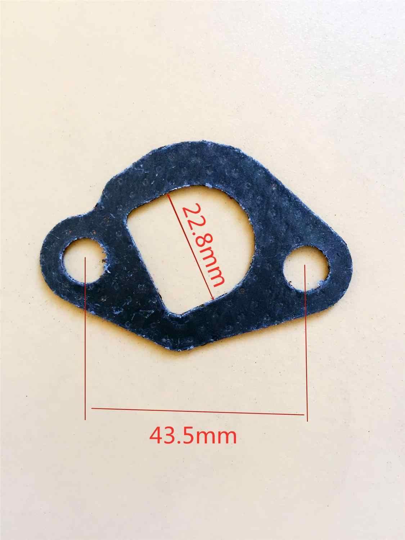 1pc 2 個 5 個 GX160 5.5 HP GX200 6.5HP 168F/170F 排気マフラーガスケット