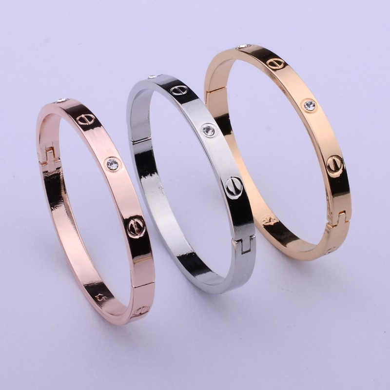 Charm Bracelet Bracelets for Women Round Rose Gold Cuff Bracelet Indian Jewelry Luxury Designer Jewelry Lady Bestfriend Gifts