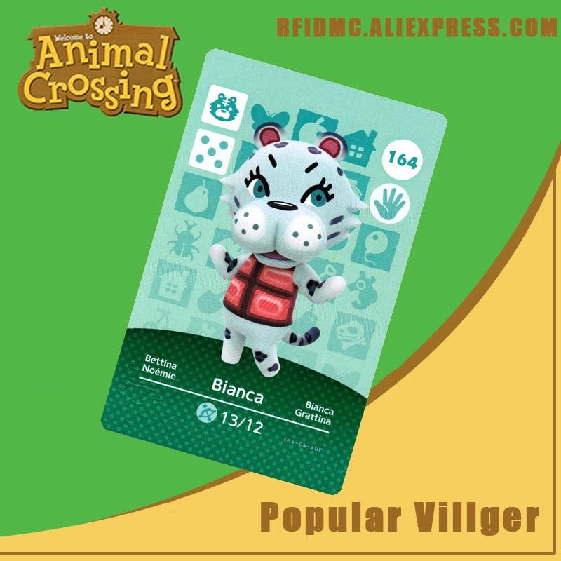 164 Bianca Animal Crossing Card Amiibo For New Horizons