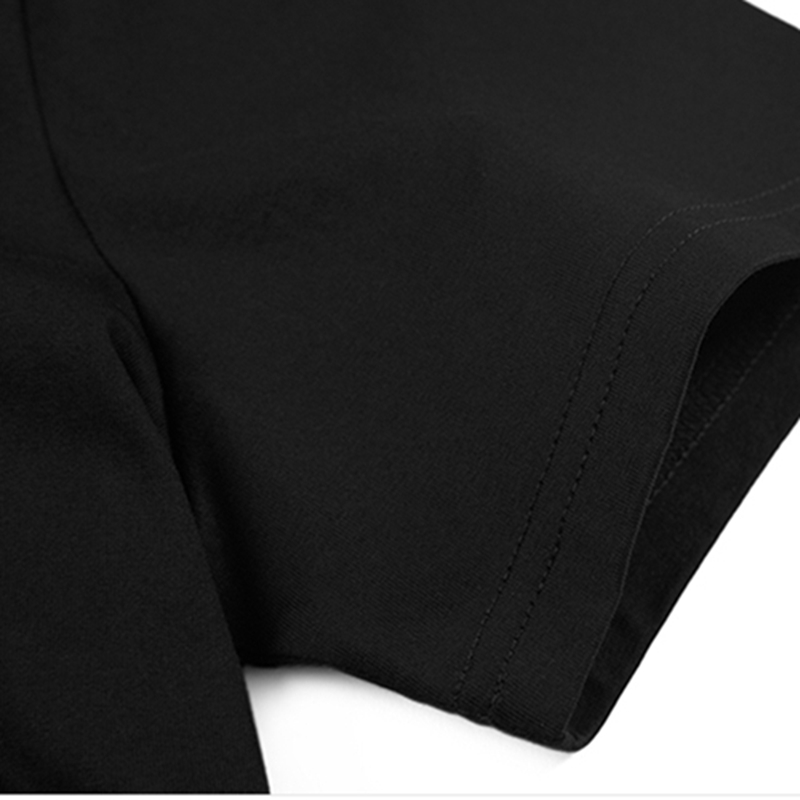 Triditya ht0287# я могу сделаю футболка мужская майка черная