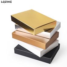 Photo-Packaging Cardboard-Box Gift Carton Retail-Favor Boxes Rectangular White for Cosmetics-Mask/candle