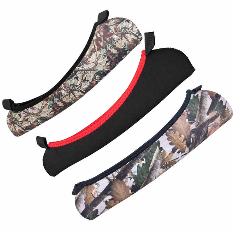 2PCS Rifle Scope Sight Guards Cover Telescope Protector Case Hunting Bag