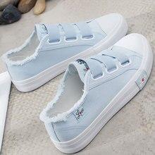 Canvas shoes woman 2019 fashion comfortable summer flats Shoes