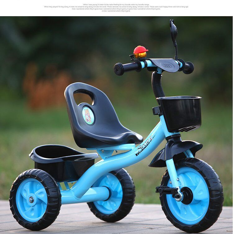 Children Tricycle Bicycle Kids Bicycle 1-5-Year-Old Infant Cart Men And Women title=