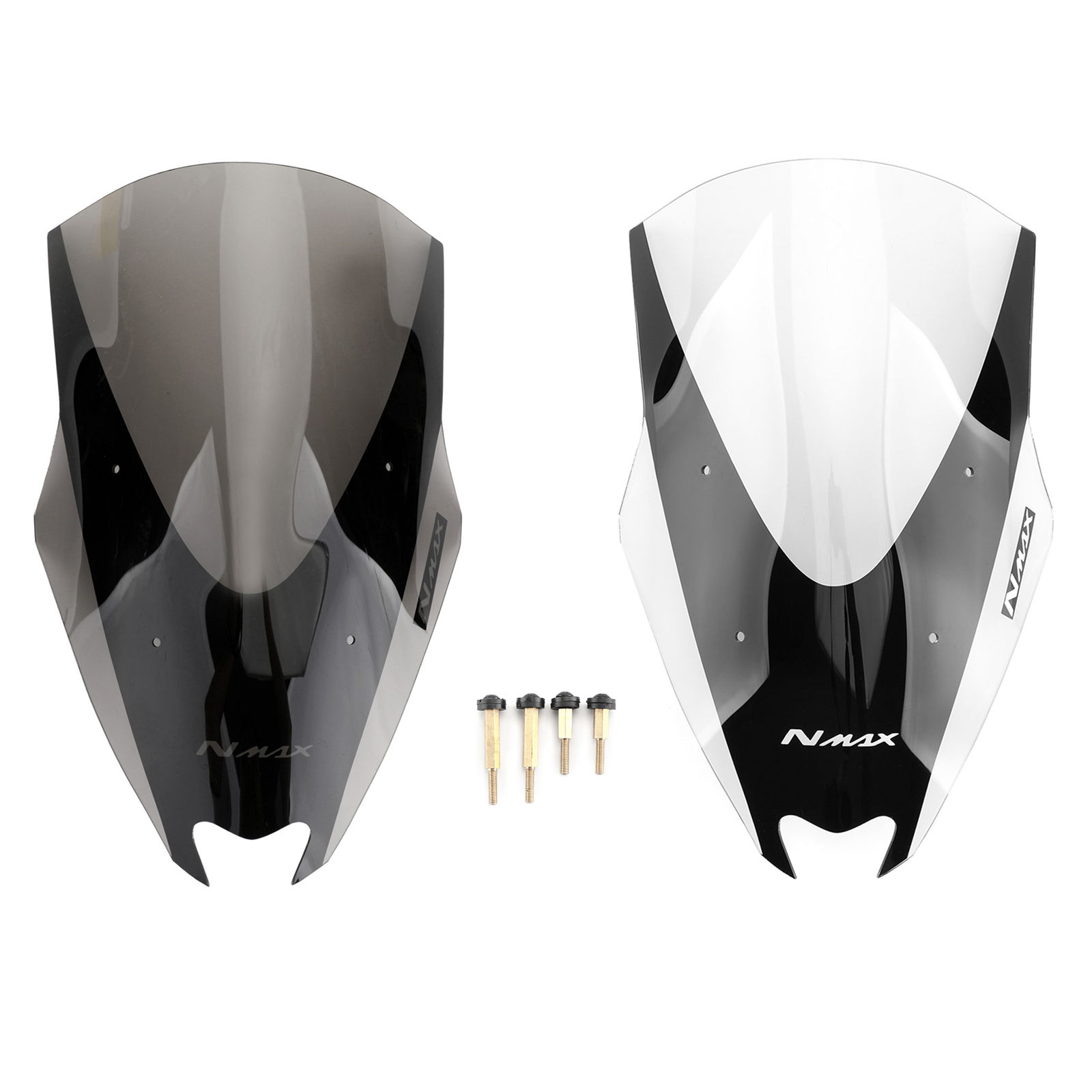 Areyourshop For <font><b>Yamaha</b></font> 2016-2018 NMAX155 2017 <font><b>Windshield</b></font> WindScreen <font><b>NMAX</b></font> 155 ABS plastic Motorcycle Covers image