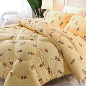 Luxury Comforters Ultra Soft Duvet King/queen/twin Beds Comforters Cute Style Down Sage Blanket For Girl Home Bedding