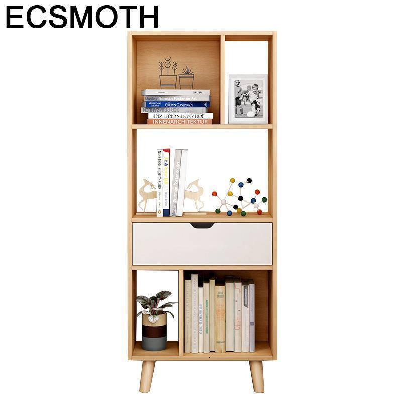 Dekorasyon Estante Para Livro Wall Decoracion Display Rack Librero Home Vintage Wood Decoration Retro Furniture Book Shelf Case