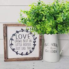 Fausse feuille verte artificielle 7 pièces, fausse plante, adaptée à la ferme, à la maison, au jardin, au bureau, à la cour, au mariage et à l'intérieur