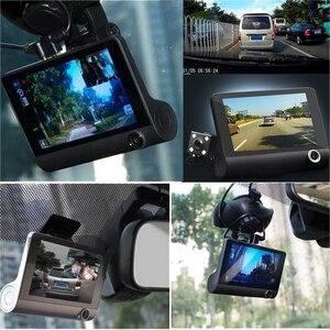 Image 2 - جهاز تسجيل فيديو رقمي للسيارات 3 كاميرات كامل HD 1080P سيارة بعدسة مزدوجة كاميرا DVR 4.0 بوصة شاشة LCD مع 170 درجة الرؤية الخلفية