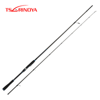 TSURINOYA Inshore Fishing Rod DETECTIVE 2.4m/2.7m/3.0m/3.3m M Spinning Seabass Rod FUJI Guide Rings Reel Seat Long Casting Rod