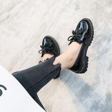 AARDIMI/женские туфли-оксфорды; tenis feminino; женская обувь из лакированной кожи на плоской подошве; женская обувь на платформе; слипоны; zapatos mujer