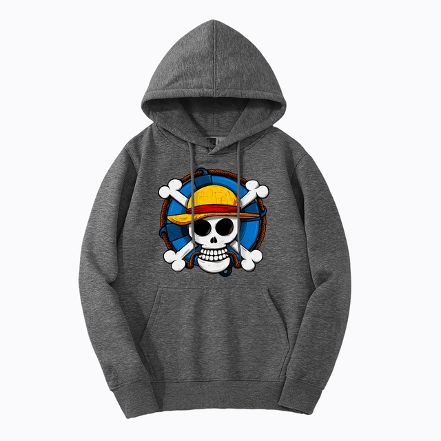 PIRATE FLAG ONE PIECE HOODIE
