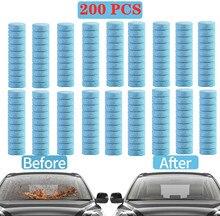 20/50/100/200 pces carro efervescente arruela tablet auto janela limpeza do carro sólido limpador fino pára-brisa limpador de vidro acessórios