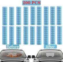 20/50/100/200個車発泡ワッシャータブレット自動窓洗浄車固体ワイパー細かいフロントガラスクリーナーアクセサリー