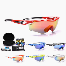 Ultralight Sports Polarized Men Sunglasses Road Cycling Glas