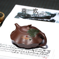 huan pot agent wholesale undressed ore purple clay pure manual recommended tea gift box drop shipping manufacturers