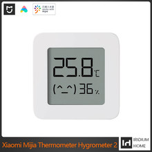 For Xiaomi Mijia Thermometer Hygrometer 2 Bluetooth Smart Wireless Electric Digital Thermograph Hygrometer With Mijia Smart Home